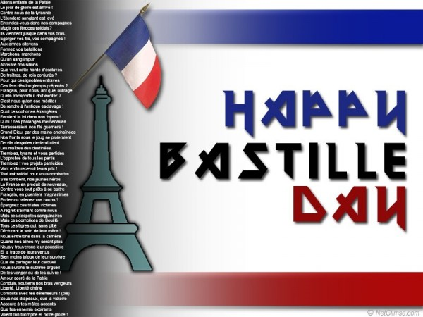 Happy bastille day france