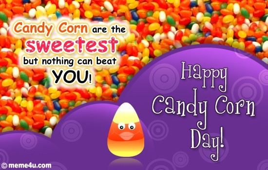 Happy candy corn day image