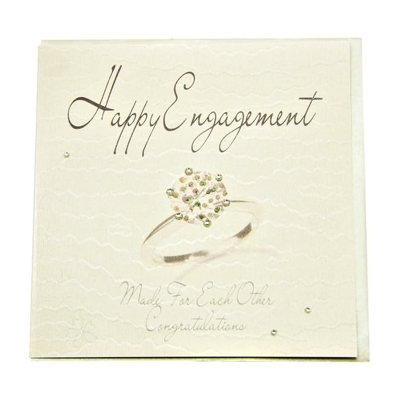 Happy engagement greeting card storemypic liked like share m4hsunfo