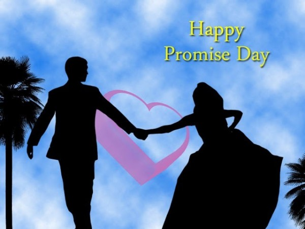 Happy promise day boy and girl