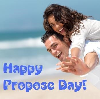 Happy propose day boy and girl image