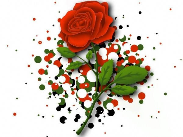 Happy rose day beautiful rose for sharing on myspace