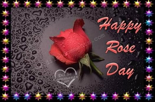 Happy rose day for sharing on myspace