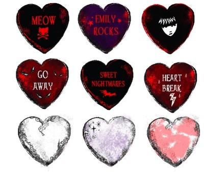 Hearts anti valentine