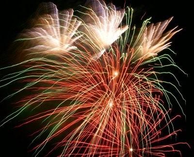Langourla bastille day fireworks