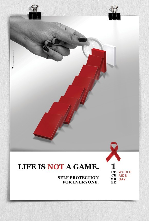 Life is not a game world aids day dec 1st