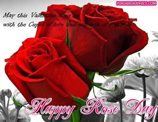 May this valentine bless us happy rose day 001