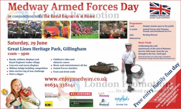 Medway armed forces day