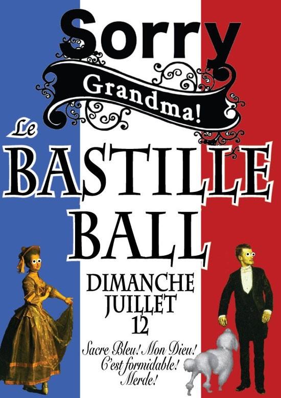 Sorry grandma bastille ball