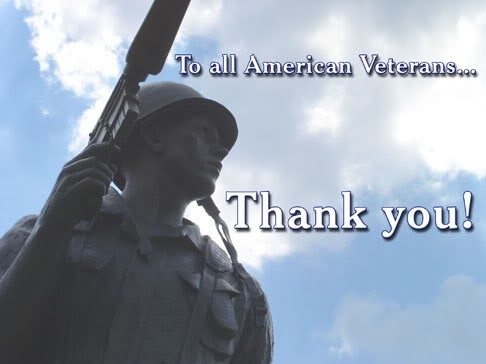 To all american veterans thank you