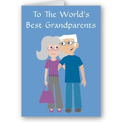 To the worlds best grandparents