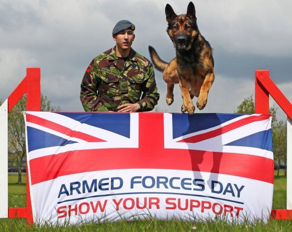 United kingdom armed forces day show your support image