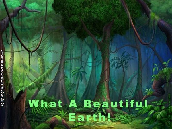 What a beautiful earth