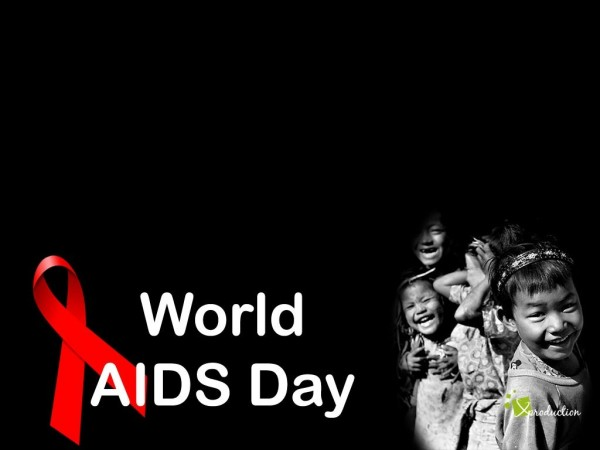 World aids day wallpaper