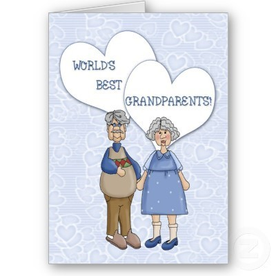 Worlds best grandparents