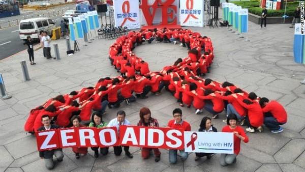 Zero aids on world aids day