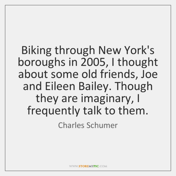 Biking through New York's boroughs in 2005, I thought about some old friends, ...