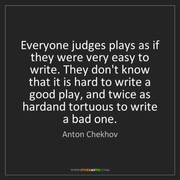 how to write a great play