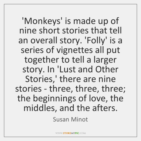 lust short story susan minot