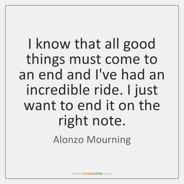 Alonzo Mourning Quotes Storemypic