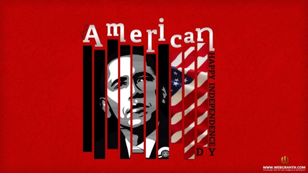 American independence day 4th july obama