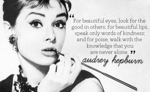 For beautiful eyes