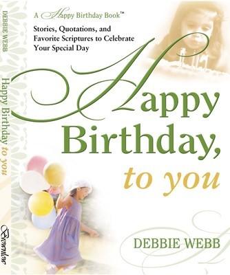 A happy birthday book