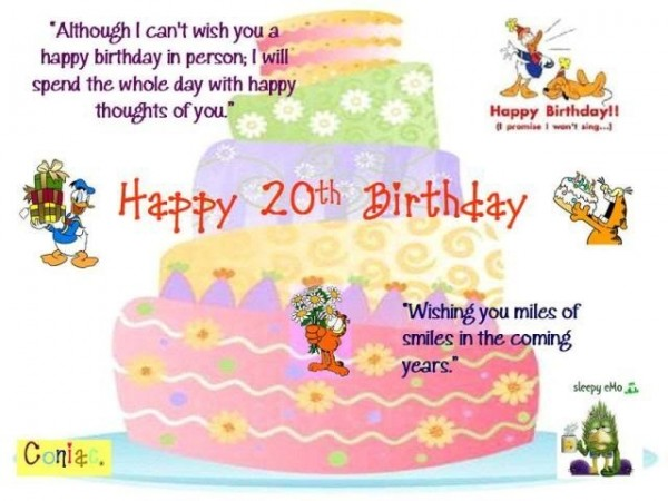 Although i cant wish you a happy birthday in person