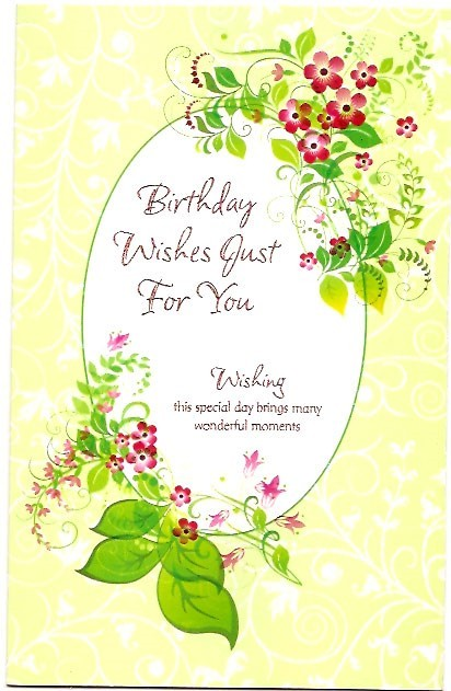 Birthday wishes just wishes for you