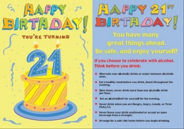 Happy birthday youre turning 21