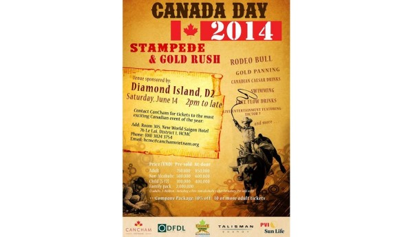 Canada day 2014 stampede gold rush
