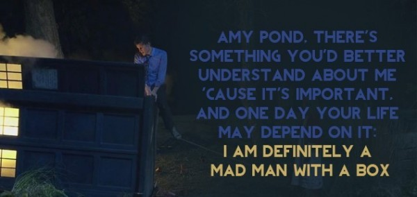 Amy pond theres something youd better understand about me cause its important