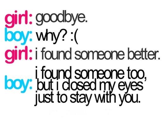 Girl Goodbye Boy Why I Found Someone Better Storemypic
