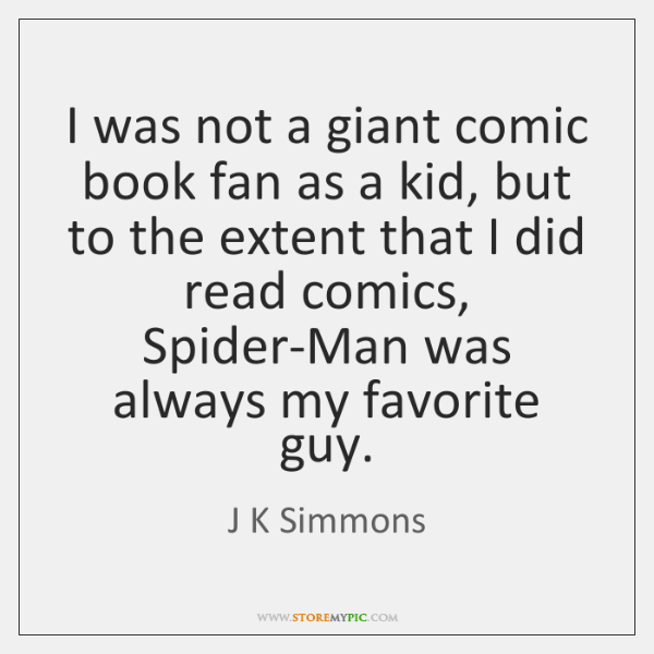 I was not a giant comic book fan as a kid, but ...