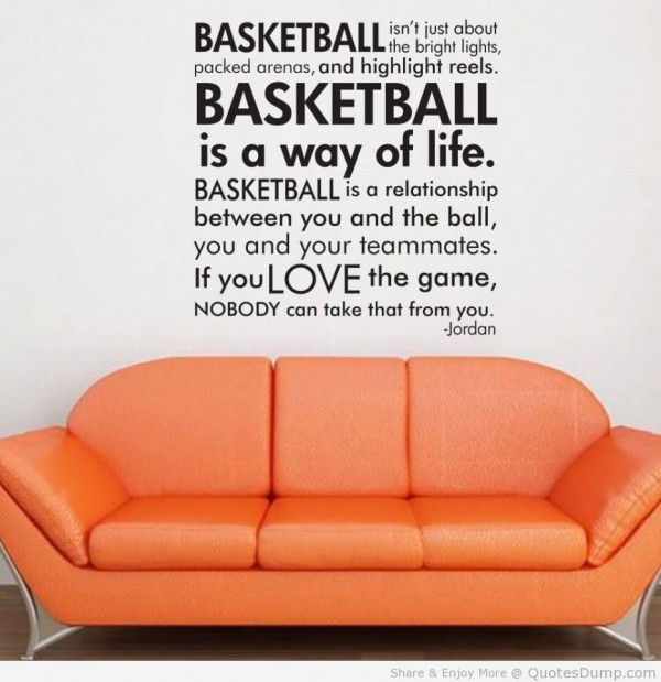 Basketball isnt just about the bright lights packed arenas and highlight reels jordan