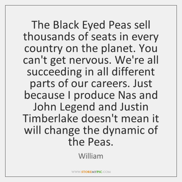 The Black Eyed Peas sell thousands of seats in every country on ...