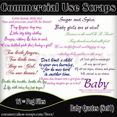 Commercial use scraps