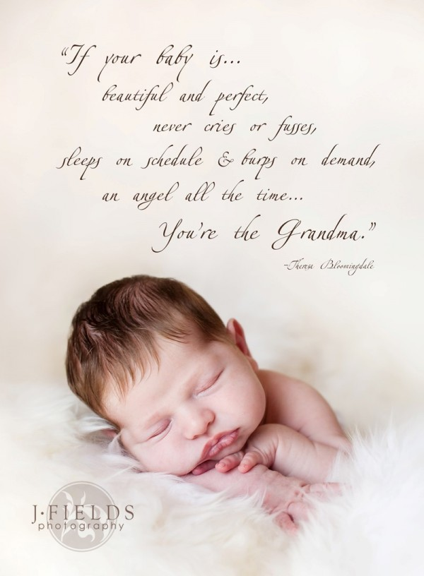 If you baby is beautiful and perfect