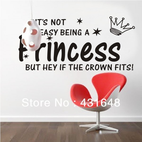 Its not easy being a princess but hey if the crown fits