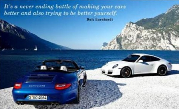 Its a never ending battle of making your cars bettle and also trying to be better yourself