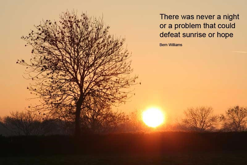 sunrise pictures with quotes - 800×533