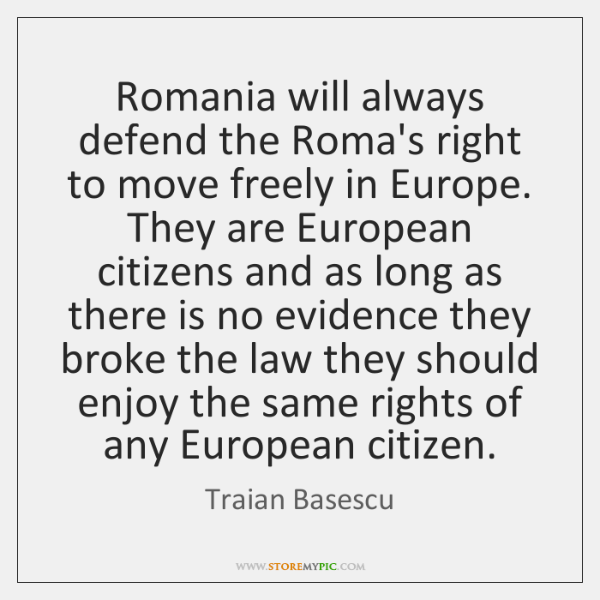 right to move freely