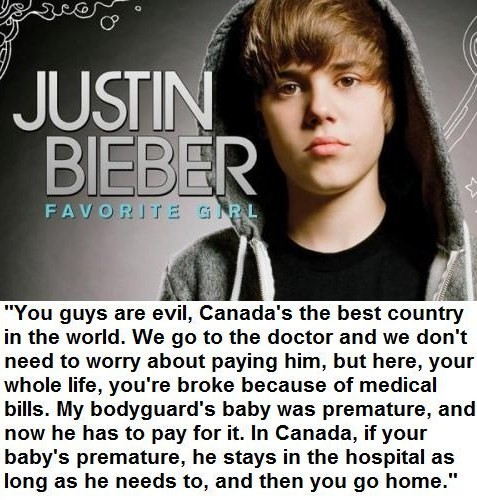 You guys are evil candas the best country in the world