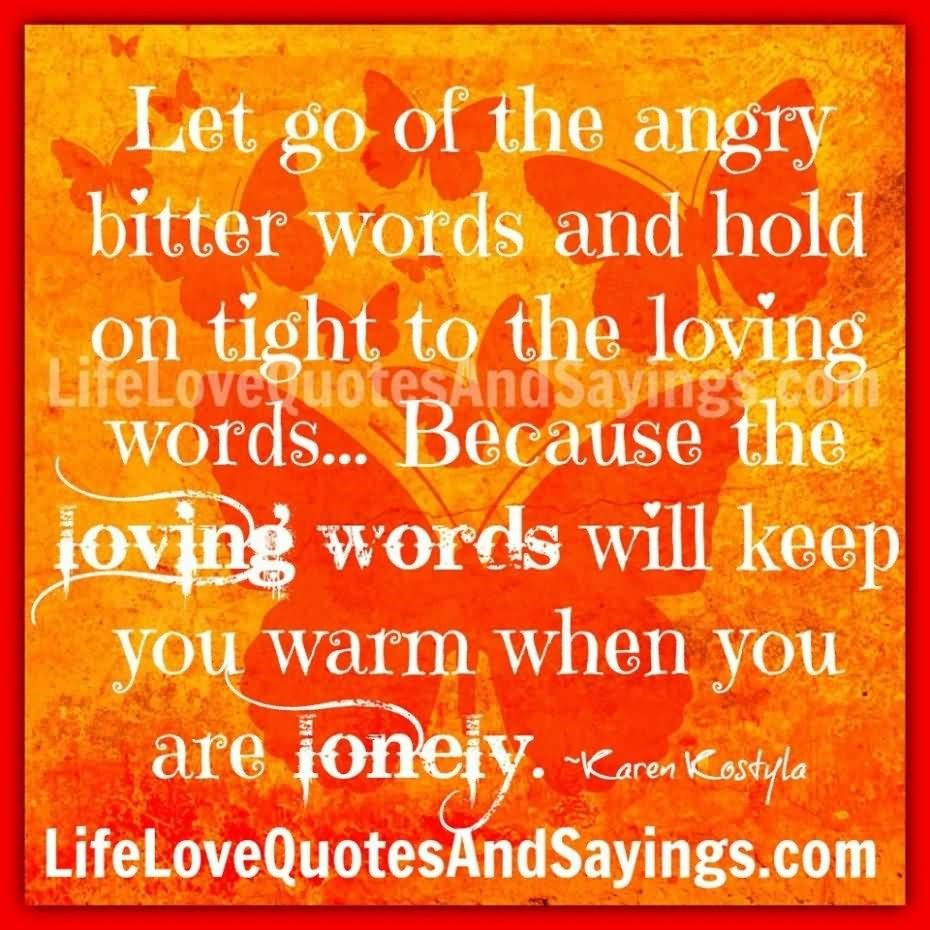 Original Letting Go Of Anger Quotes