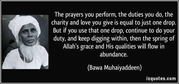 The prayer you perform the duties you do the charity and love you give is equal to jus