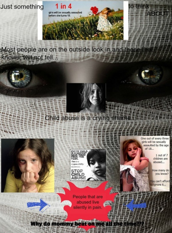 Child abuse is a crying shame