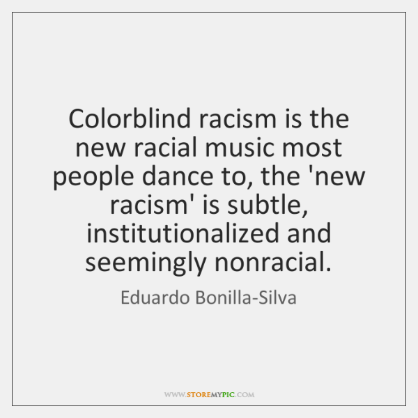 colorblind love essay Essays - largest database of quality sample essays and research papers on color blind racism.