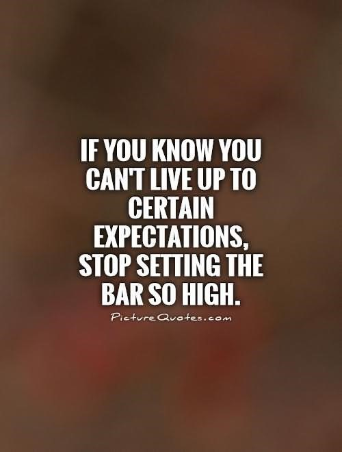 Expectation Quotes StoreMyPic Delectable Quotes About Expectations
