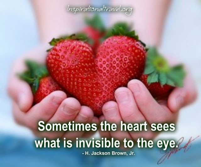 Sometimes The Heart Sees What Is Invisible To The Eye Storemypic