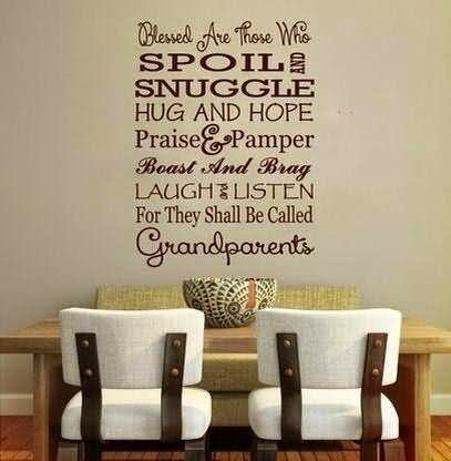 Blessed are those who spoils and snuggle hug and hope praise pamer boast and bra